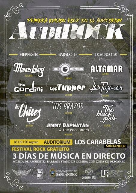 Llega 'Audirock', el primer festival de rock en el auditórium del Sardinero