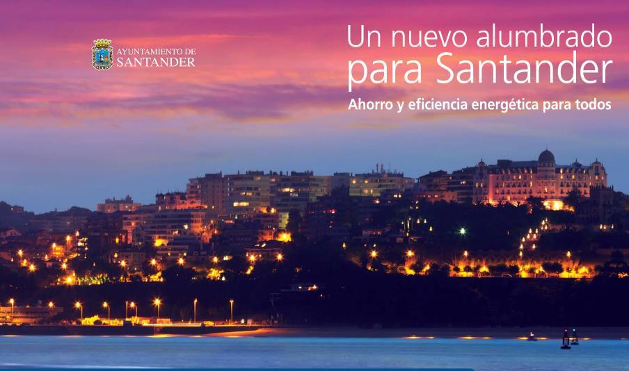 Santander avanza en la implantación del nuevo alumbrado