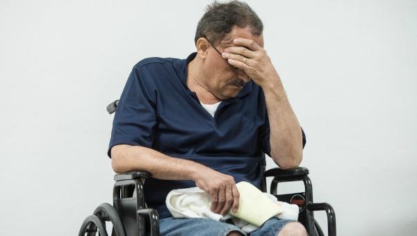Paciente anónimo con dolor crónico.