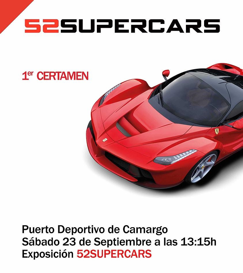 Camargo acogerá una exhibición de superdeportivos en el Puerto Deportivo de Raos