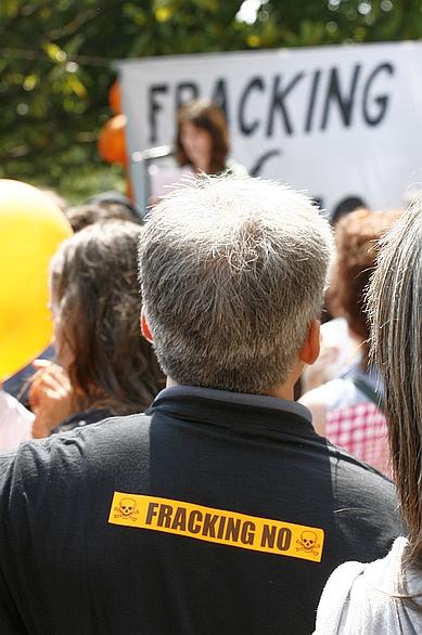Manifestación contra el fracking en Santander - Archivo CANTABRIA DIARIO