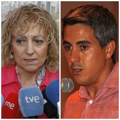 El PSOE convoca a Rosa Eva Díaz Tezanos, tras las dimisiones de Salvador Blanco y Rosa Inés García - Foto: Rosa Eva Díaz Tezanos y Pablo Zuloaga (Archivo CANTABRIA DIARIO)