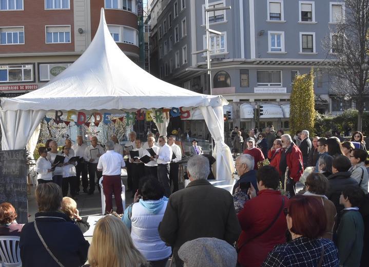 Los huertos urbanos del Ayuntamiento de Santander se unen un año más a la programación navideña