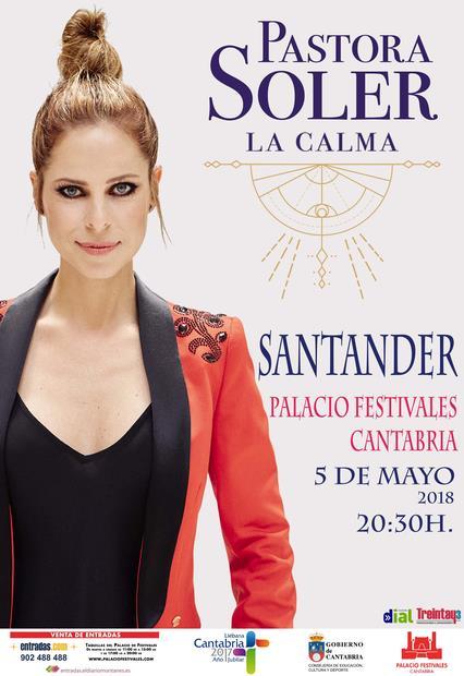 Salen a la venta las entradas del concierto de Pastora Soler en el Palacio de Festivales