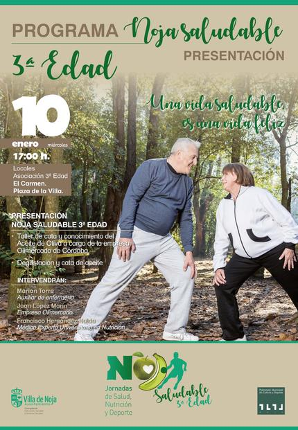 """El programa """"Noja saludable"""" dedica su segunda jornada a la salud y nutrición de las personas mayores"""