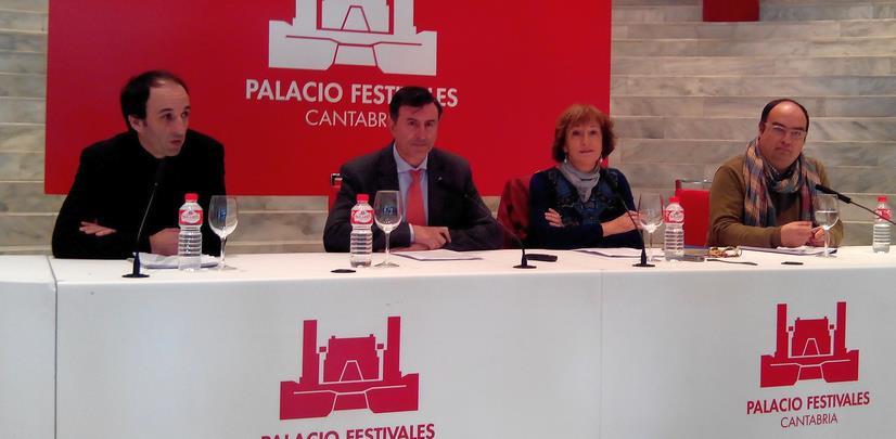 Mañanes presenta la nueva temporada del Palacio de Festivales marcada por la calidad y pluralidad de sus propuestas