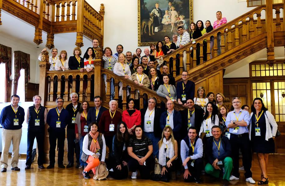 En la imagen de archivo el Congreso Anual de Procuradores - El Palacio de la Magdalena acogió en 2017 un total de 2.427 actividades en las que participaron más de 81.000 personas