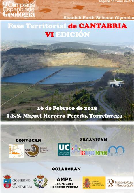 Convocada la VI Olimpiada de Geología de Cantabria