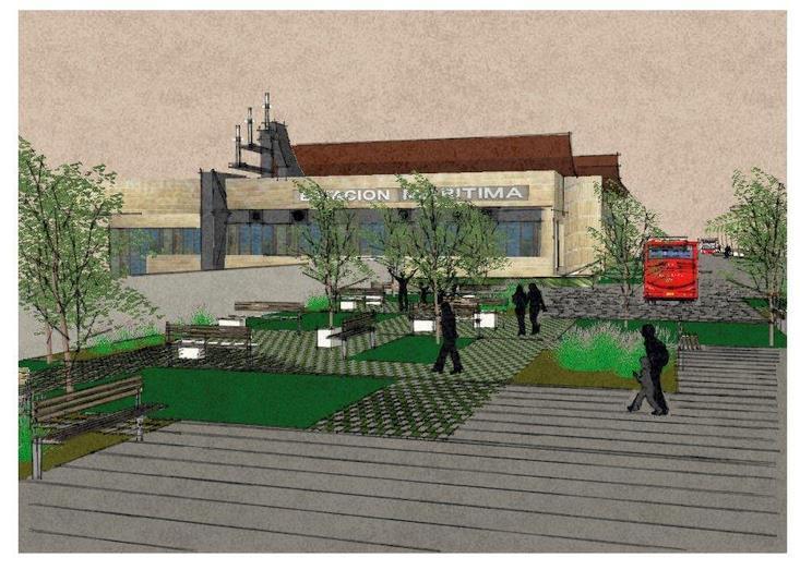 Las obras de acondicionamiento y mejora del entorno de la Estación Marítima comenzarán en primavera