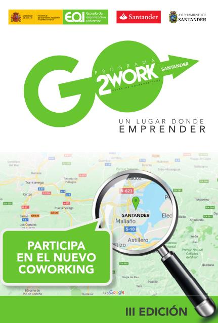 Coworking Santander cerrará el próximo jueves el plazo para participar en su tercera edición