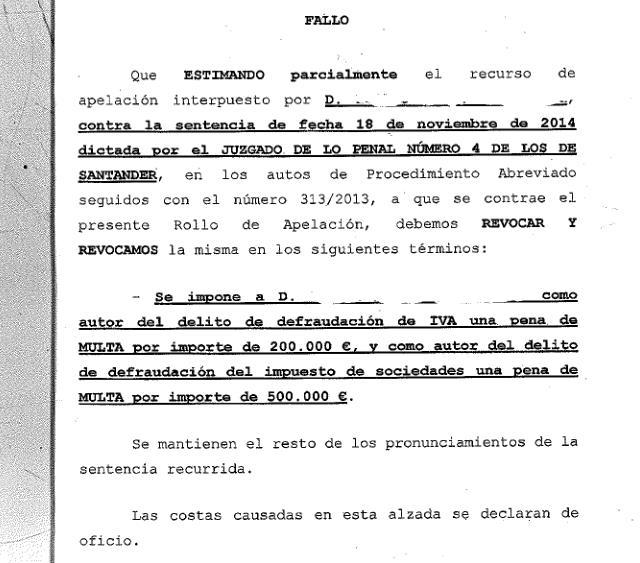 Multa de 700.000 euros a un promotor inmobiliario por defraudar en el IVA y el Impuesto de Sociedades