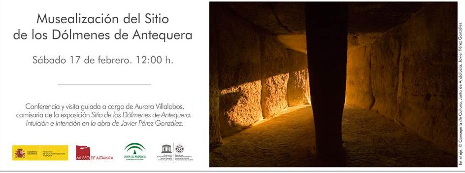 El Museo de Altamira organiza la conferencia Musealización del Sitio de los Dólmenes de Antequera - Foto: (C) Consejería de Cultura, Junta de Andalucía - Javier Pérez González