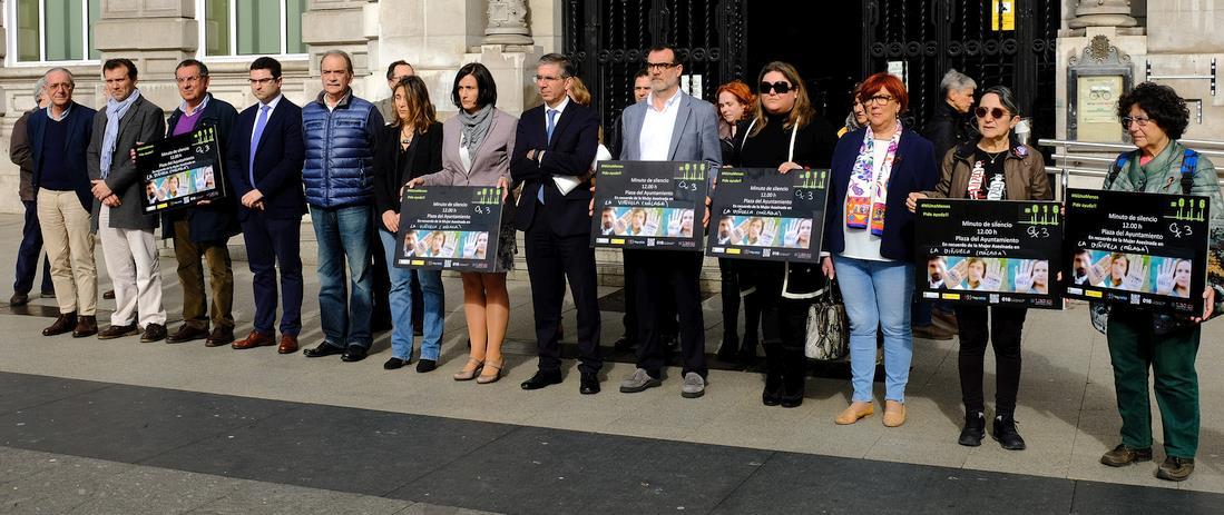 Santander condena el asesinato machista de La Viñuela en Málaga