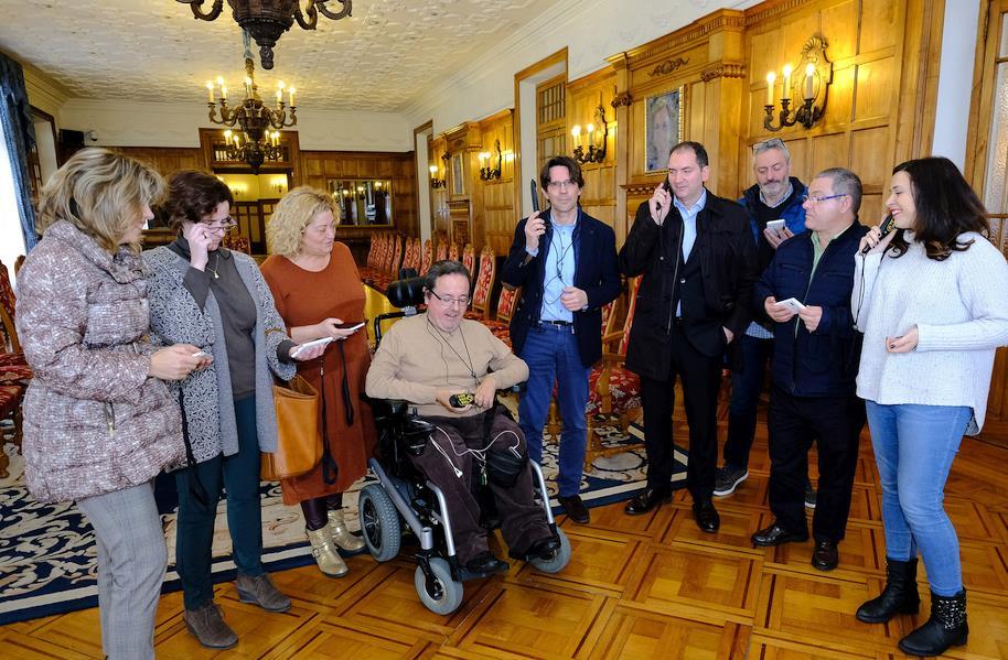 El Palacio de la Magdalena incorpora cinco audiosignoguías