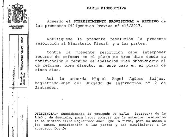 Archivada la causa contra la exdirectora de Ganadería y su esposo por posible tráfico de influencias