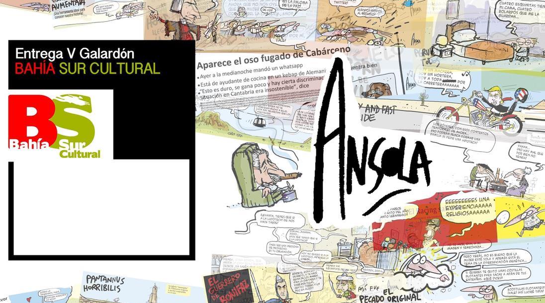 El humorista gráfico Íñigo Ansola recibirá el V Galardón Bahía Sur Cultural
