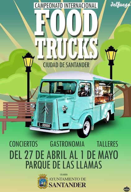 Santander acogerá la primera edición del Campeonato Internacional de Food Trucks