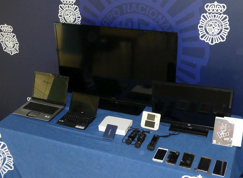 Tres detenidos por robo con fuerza en un domicilio de la ciudad