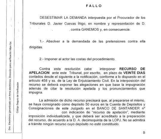 Desestimada la demanda de un concejal de Santander contra Ganemos por su expulsión del partido y del grupo municipal