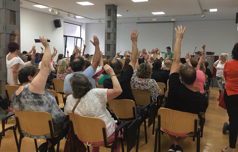 Los trabajadores del sector de la Limpieza anuncian huelga y concentraciones ante el 'inmovilismo' de las patronales