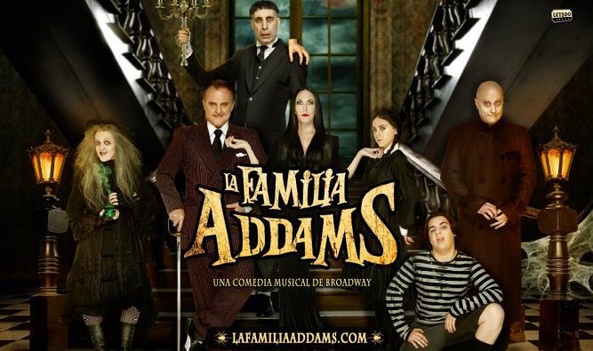 """""""La familia Addams"""" llega al Palacio de Festivales el próximo mes de septiembre"""