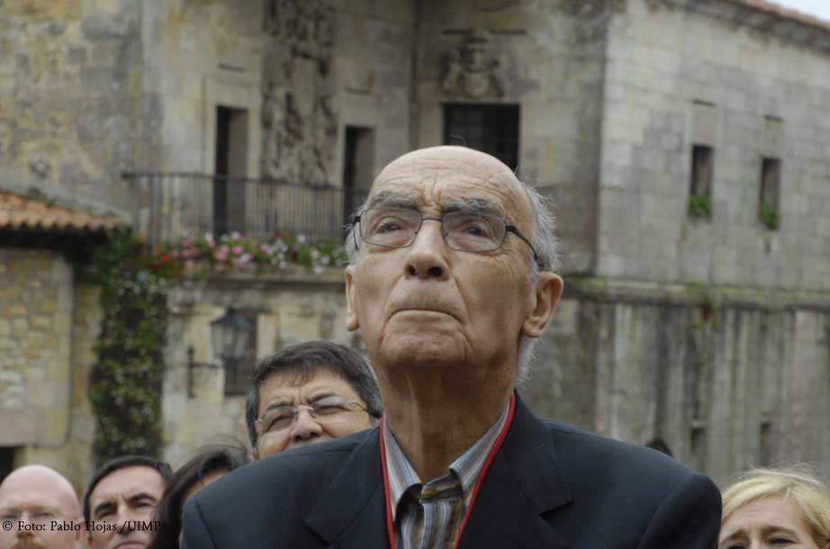 Pilar del Río y Fernando Gómez Aguilera debaten sobre José Saramago - (C) Pablo Hojas - UIMP