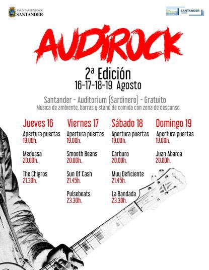 Medussa y The Chigros ofrecerán mañana la primera de las veladas musicales del Audirock