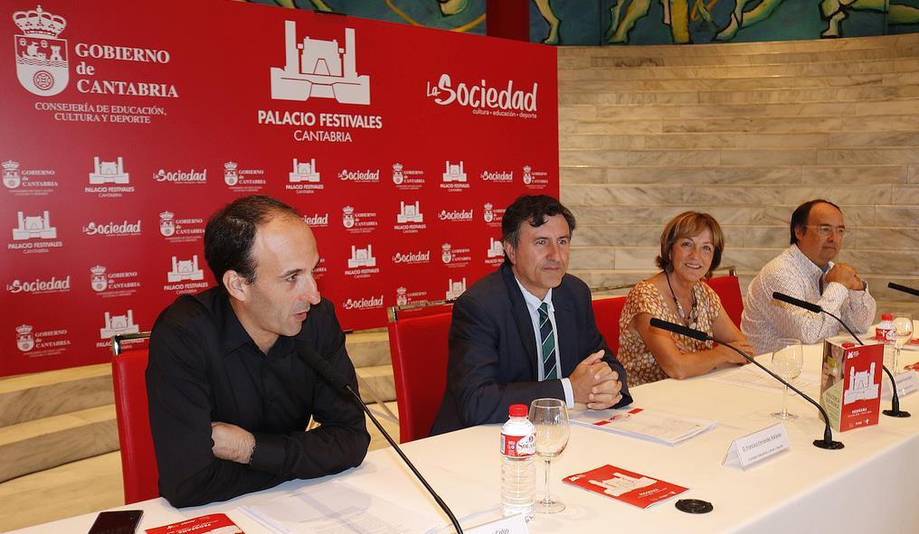 Presentada la nueva temporada del Palacio de Festivales para los próximos meses
