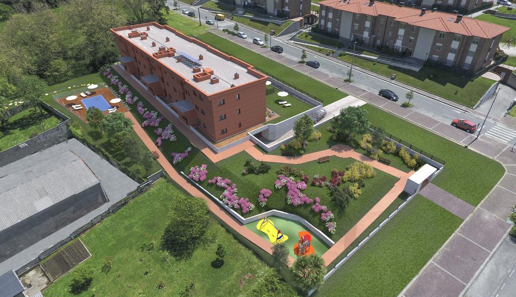 Santander concede la licencia para construir un edificio de 18 viviendas en San Román