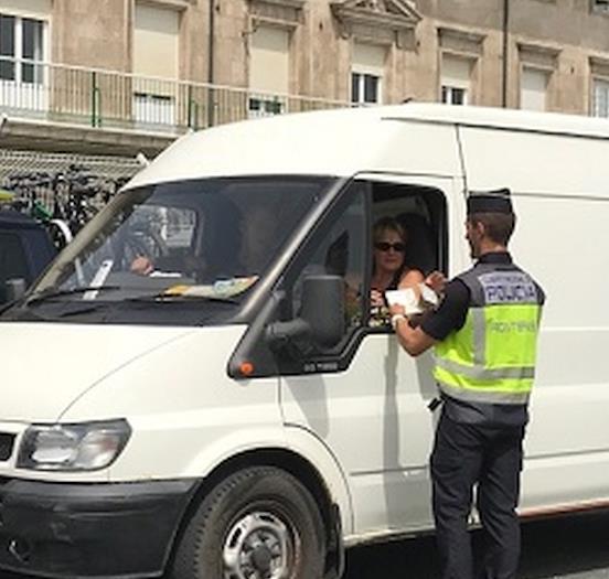 Dos personas detenidas en Santander por falsedad documental