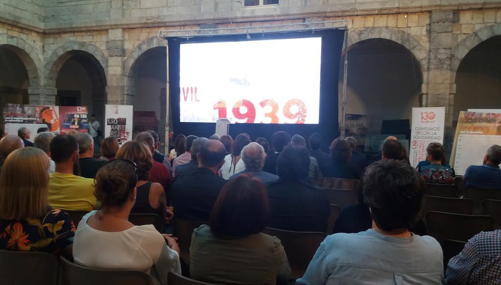 """UGT comienza la conmemoración de sus 130 años de historia con el reto de superar """"un período de cambios"""""""
