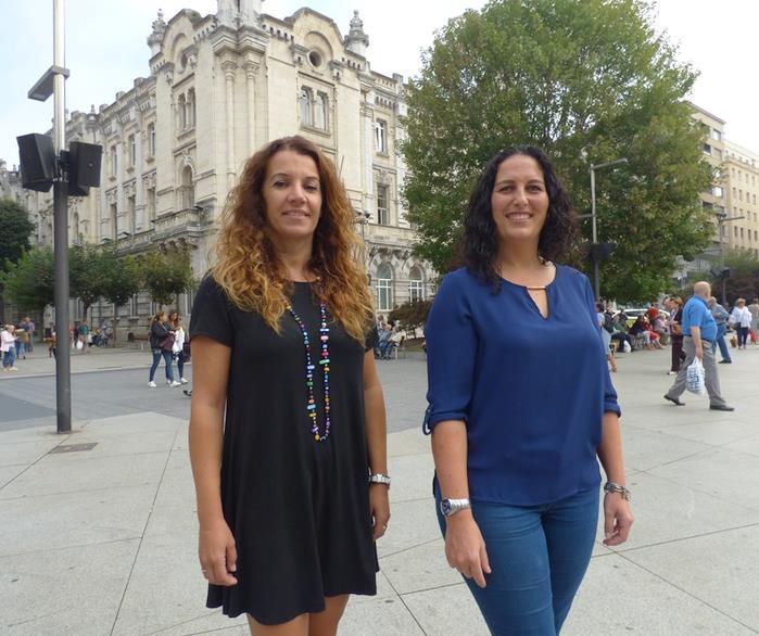 Cora Vielva y Lidia Laso