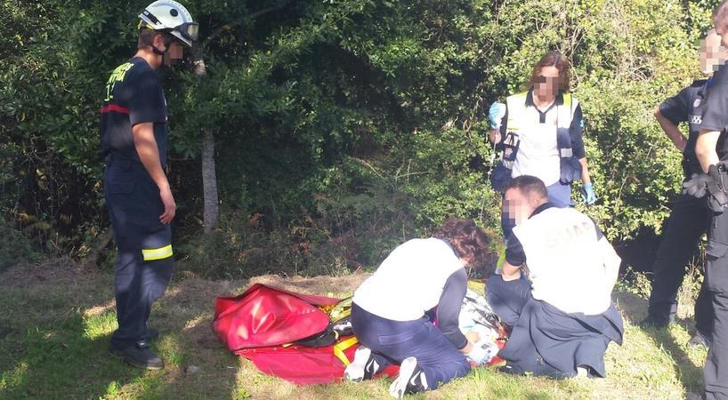 Evacuada una mujer tras sufrir una indisposición en el Monte Buciero