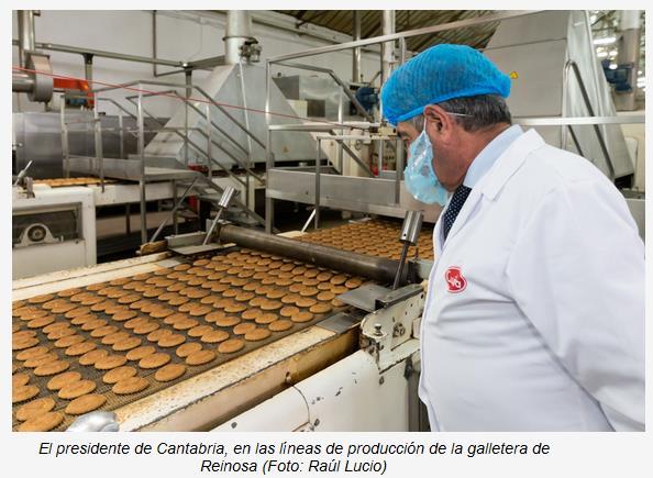 La planta de Cuétara de Reinosa fabricará en exclusiva una nueva gama de galletas ecológicas