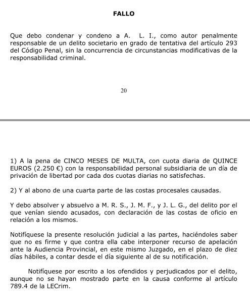 Condenado Ángel Lavín 'Harry' por desconvocar la junta del Racing que le iba a destituir