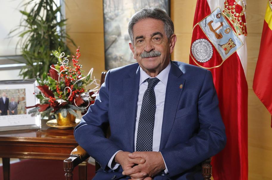 Mensaje de Navidad de Miguel Ángel Revilla, presidente de Cantabria / Foto: Lara Revilla