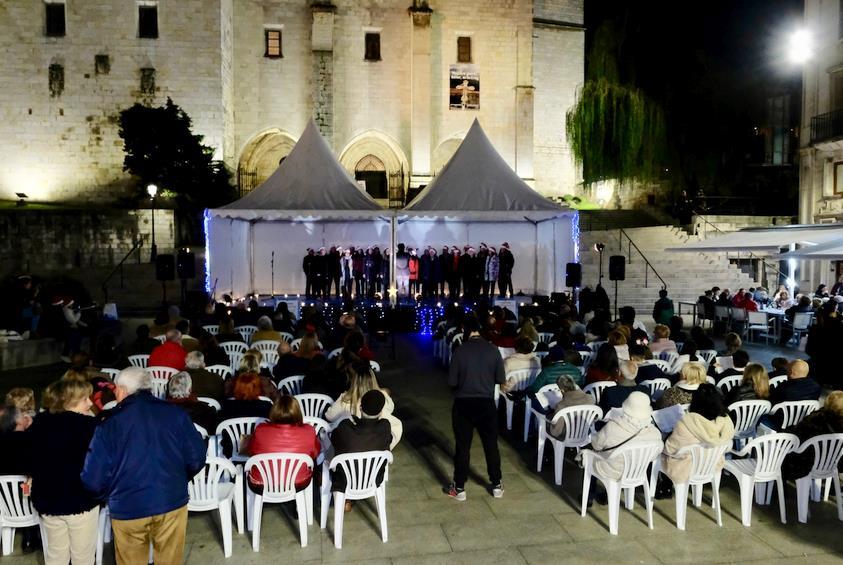 Una veintena de coros participan hasta el domingo en el I Maratón de Villancicos