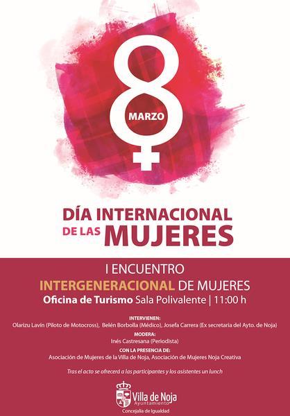 Noja celebra el 8M con un encuentro intergeneracional de mujeres