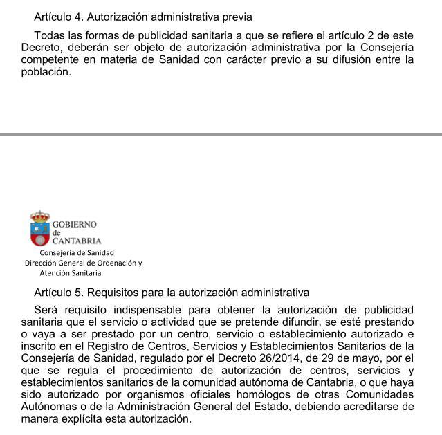 Cantabria prepara un decreto regulador de la publicidad sanitaria que podría erradicar las falsas terapias
