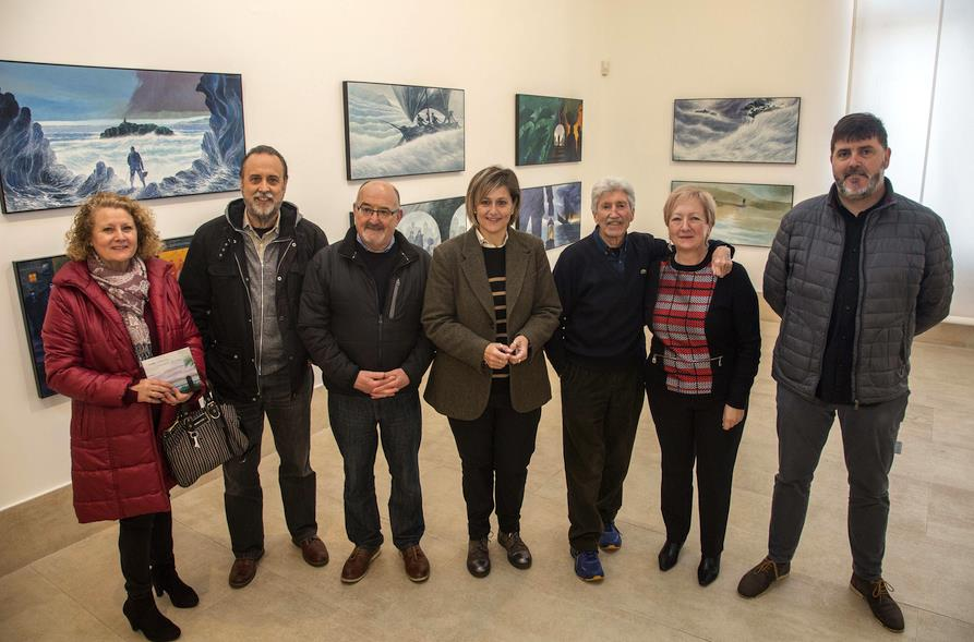 La Vidriera acoge a partir de mañana jueves la exposición 'El mar' de José Ramón Sánchez