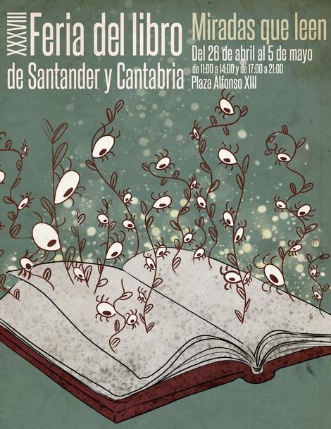 La literatura como fuente de inspiración para el cine, eje principal de la Feria del Libro de Santander