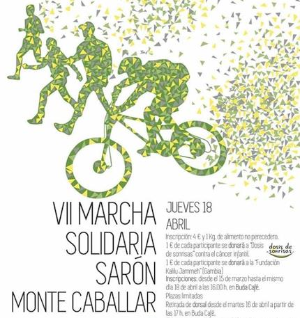 Sarón celebra la VII Marcha Solidaria Sarón Monte Caballar