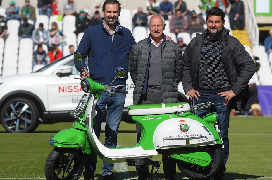 El Racing sortea una moto eléctrica