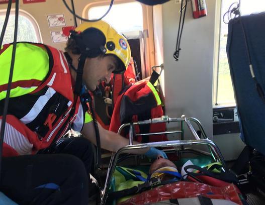 Rescatado un senderista con traumatismo craneoencefálico y costal en los Collados del Asón