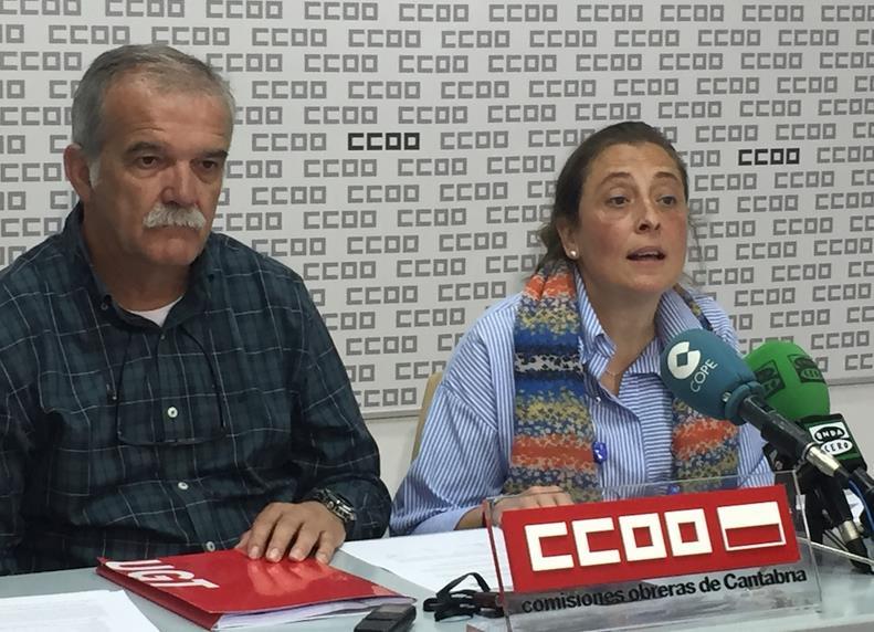 CCOO y UGT llegan a un principio de acuerdo con el SCS y suspenden la concentración prevista para mañana miércoles