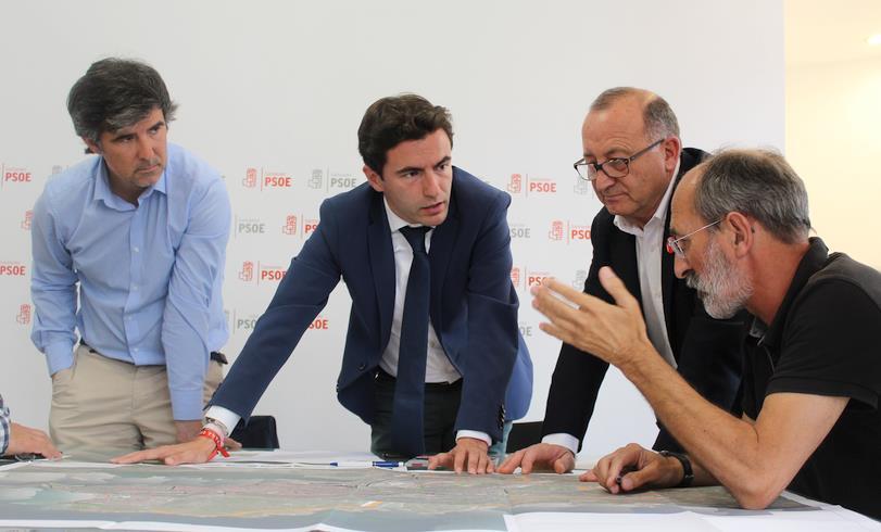 El PSOE quiere que esta legislatura sea la del impulso a la movilidad sostenible en Santander