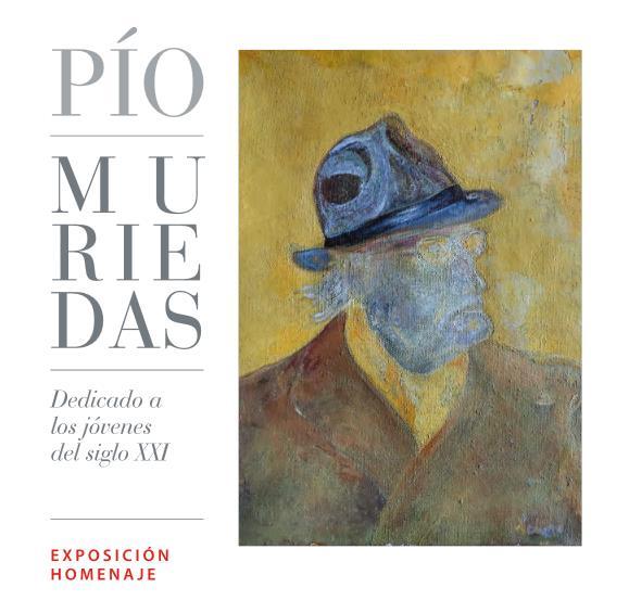 Exposición homenaje a Pío Muriedas en Santander en la Biblioteca Central de Cantabria hasta el 27 de junio