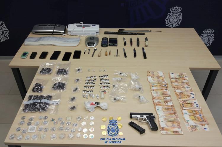 Desmantelado un punto negro de venta de drogas en Santander