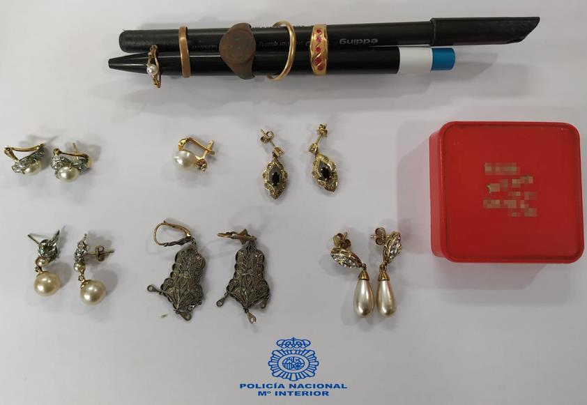 La Policía Nacional detiene a los cuatro autores de un robo con fuerza en domicilio