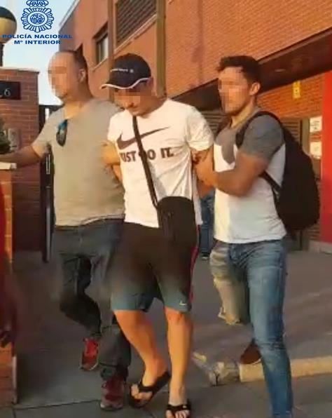 La Policía Nacional detiene a los presuntos autores del homicidio de la calle Barcelona de Santander